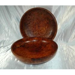 Rare Tiger Wood Bowls