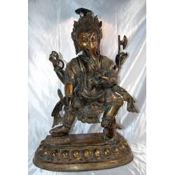Ganesh, dancing; bronze