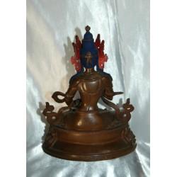 Bodhisattva Vajrasattva Statue: Tibetan, 20th Century