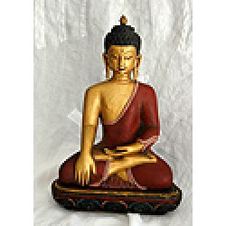 Buddha, wooden