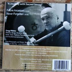Future Ancestors - Gong Healing CD