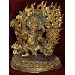 Bodhisattva Vajrapani Statue: Tibetan, 19th Century