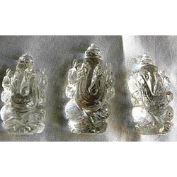 Ganesh: Quartz, Pocket Blessing