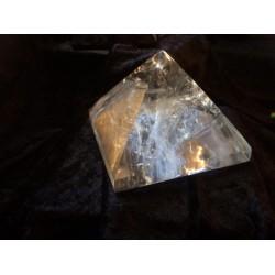 Pyramid: Clear Quartz