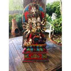 Ganesh with Lakshmi