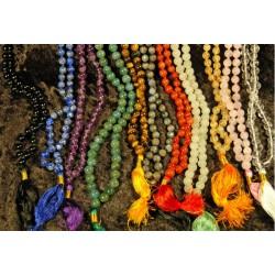 Mala Prayer Beads: Various Gemstones
