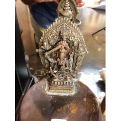 Temple Oil Lamp/Manjustri