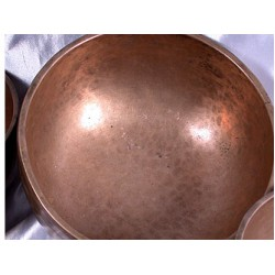 Singing Bowls, old, Tibetan, H