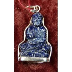 Buddha, Pendant; gemstone