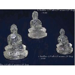 Buddha Statues: Himalayan Quartz