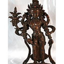 Buddha Lokesvara Statue: 20th Century