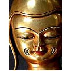 rJe Rimpoche Manjushri incarnate Statue: Tibet, 20th Century