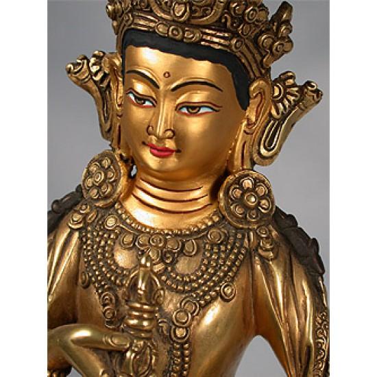 Bodhisattva Vajra Dorje Statue: Nepal, 21st Century