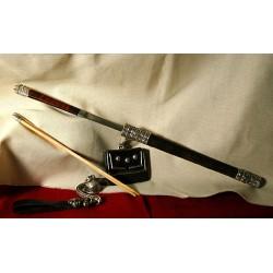 Silver Knife set, Mongolian Royal Family 2