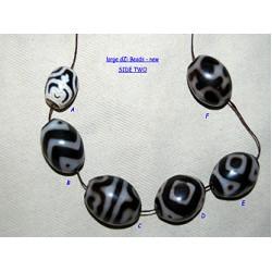 DZi (gZi) Beads: New/Large