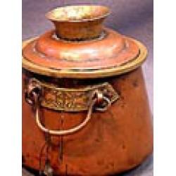 Monastic Butter Pot: Tibet, 16th Century