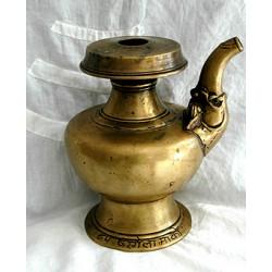 Monastic Long Life Ritual Vase: Empowered, Tibet, 16th Century