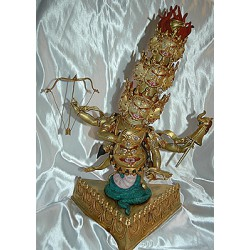 Rahula Protector Statue: Rare & Stunning