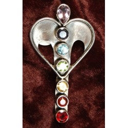 Pendant: Heart Opening Chakra Stone