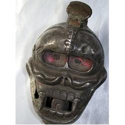 Skull: Silver, Rare, Tibetan 16th Century