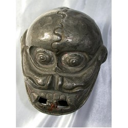 Skull, white metal, stunning