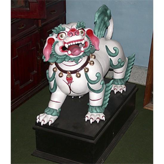Snowlion Guardians; Temple size