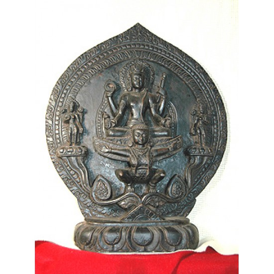 Bodhisattva on the wings of Garuda