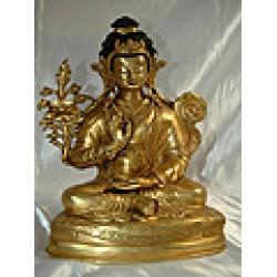 Manjushri Statue: Tibetan, 19th Century