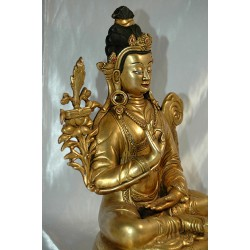 Manjushri; Tibetan depiction