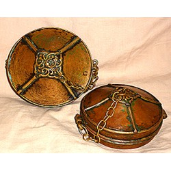 Tingsha cover: Copper, various sizes